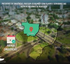 AGENDA SINAGÊNCIAS MATO GROSSO – Presidente do Sinagências visitará servidores das Agências Reguladoras do estado