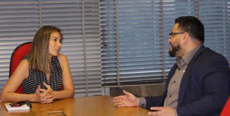 Presidente do Sinagências visita secretária-executiva do Ministério da Cultura