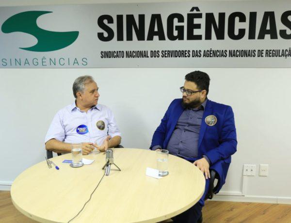 ELEIÇÕES 2018 – Deputado Izalci  Lucas visitou o Sinagências e disse que eleito defenderá autonomia técnica das Agências