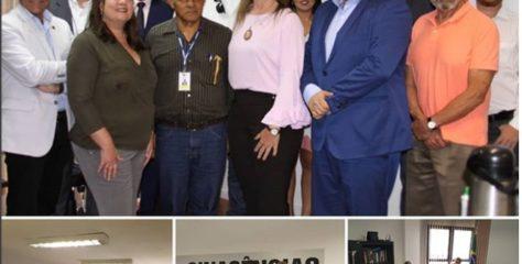 AGENDA INSTITUCIONAL – Deputada Federal , Aline Sleutjes conheceu as pautas do servidores de carreira das Agências e se colocou à disposição