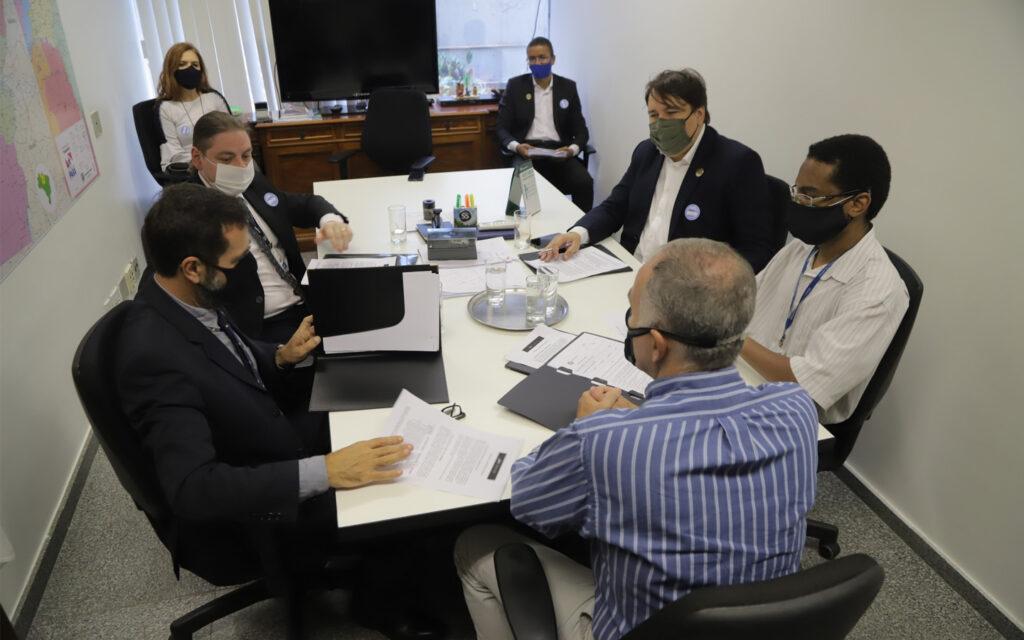 Agenda com a chefia de gabinete do senador Zequinha Marinho (PSC- PA)